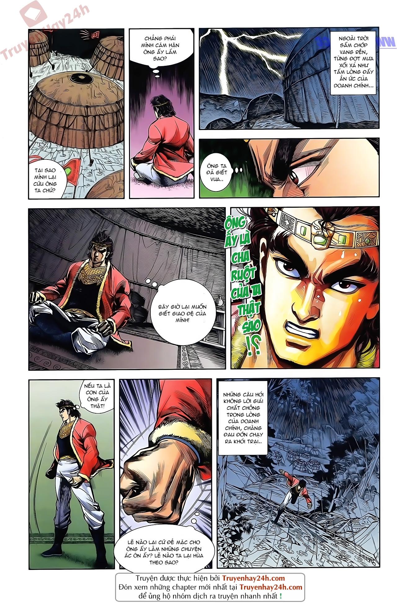 Tần Vương Doanh Chính chapter 47 trang 9