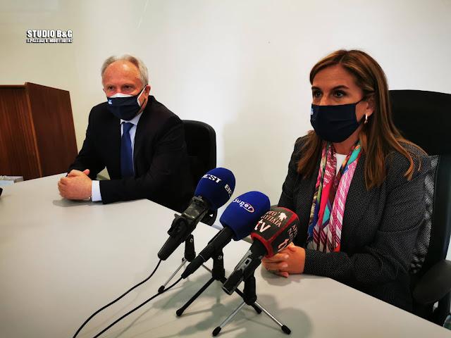 Αργολίδα: Το Νοσοκομείο Άργους επισκέφθηκε η Υφυπουργός Υγείας Ζωή Ράπτη