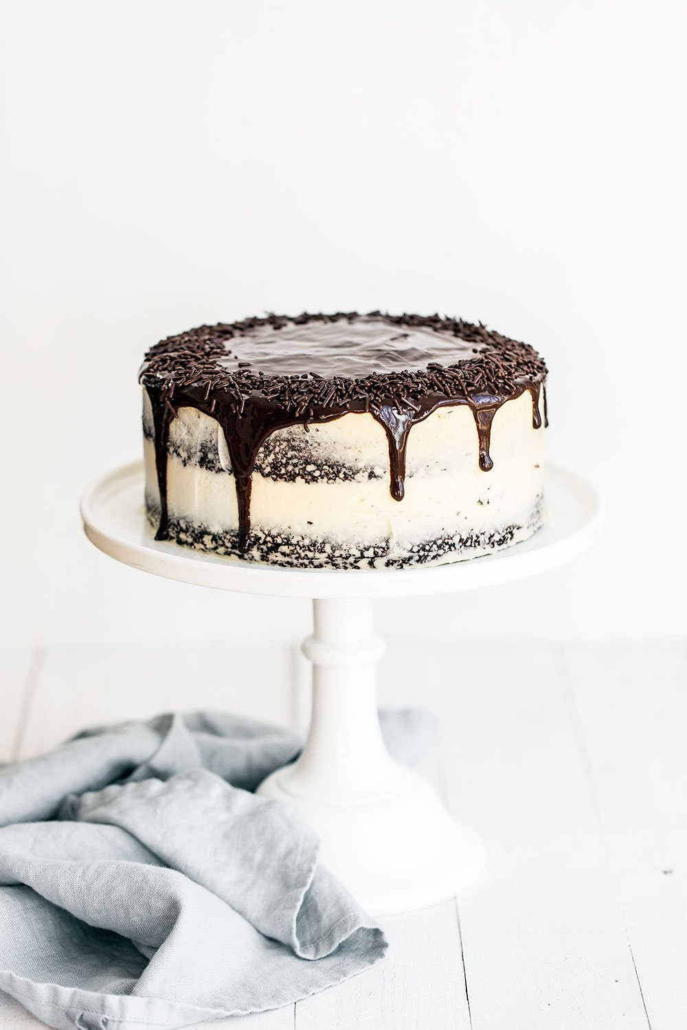 Guinness Chocolate Cake with Irish Buttercream