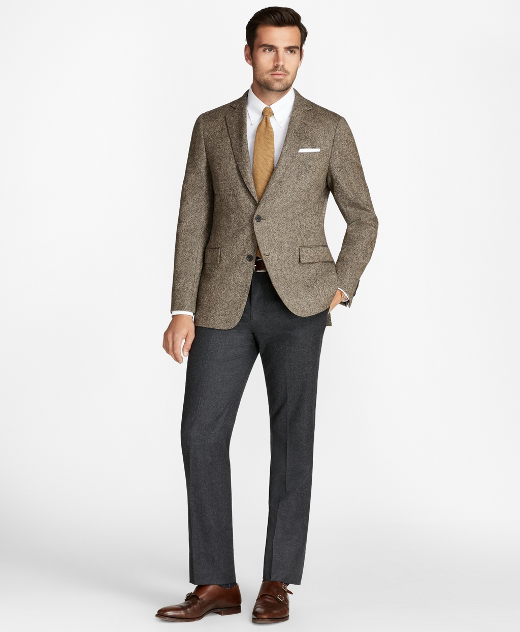 Tendencias invernales en Brooks Brothers.