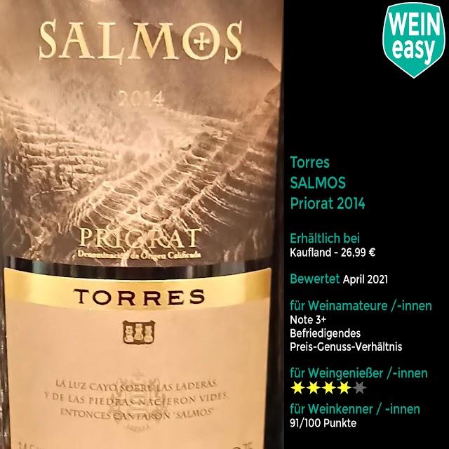 Torres Salmos Priorat 2014