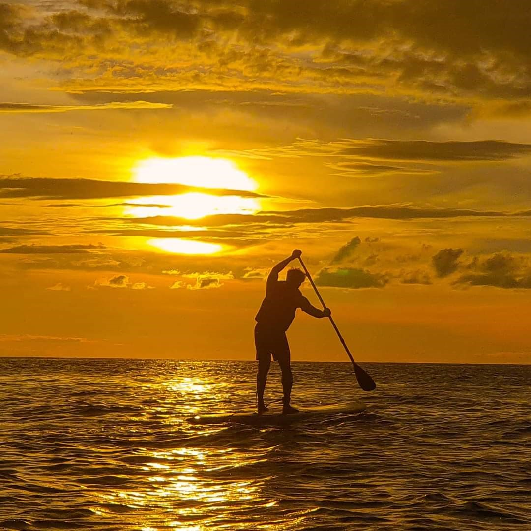 Stand up paddle tanjung aru