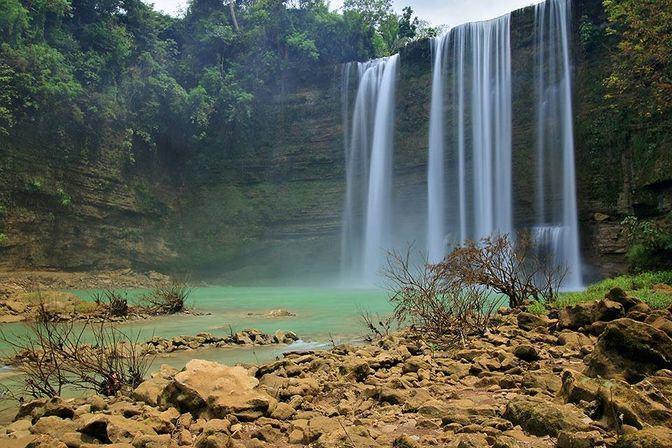 Niludhan Falls near Dumaguete City
