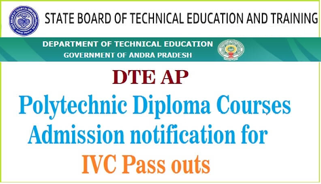 /2019/05/ap-polytechnic-diploma-courses-admissions-notification-ivc-pass-outs-application-form-ivc-admissions.in.htmlAP Polytechnic Admissions 2019 for IVC, ITC Pass outs, Apply Online up to May 29 ADMISSION NOTIFICATION -2019 For IVC Pass-outs (Lateral Entry) into Polytechnics