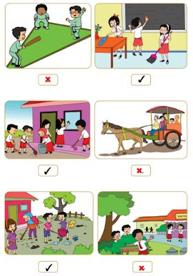 gambar yang menunjukkan kegiatan kerja bakti dalam keberagaman www.simplenews.me