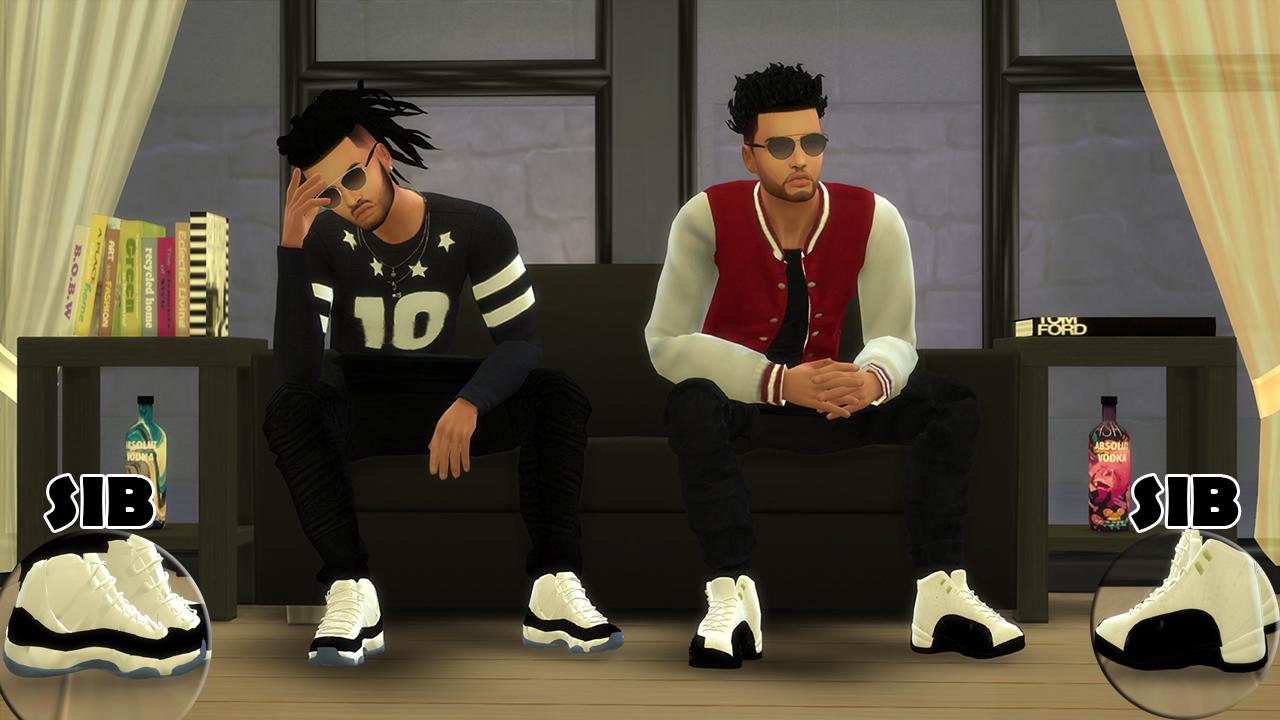 Sims Blog Chunkysims Male Jordan Conversion