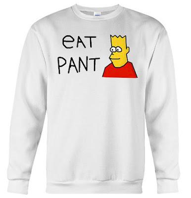 Simpsons Eat Pant Hoodie Sweatshirt