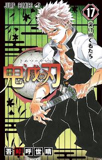 Kimetsu no Yaiba 17 manga