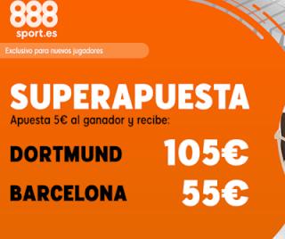 888sport superapuesta champions Dortmund vs Barcelona 17 septiembre 2019