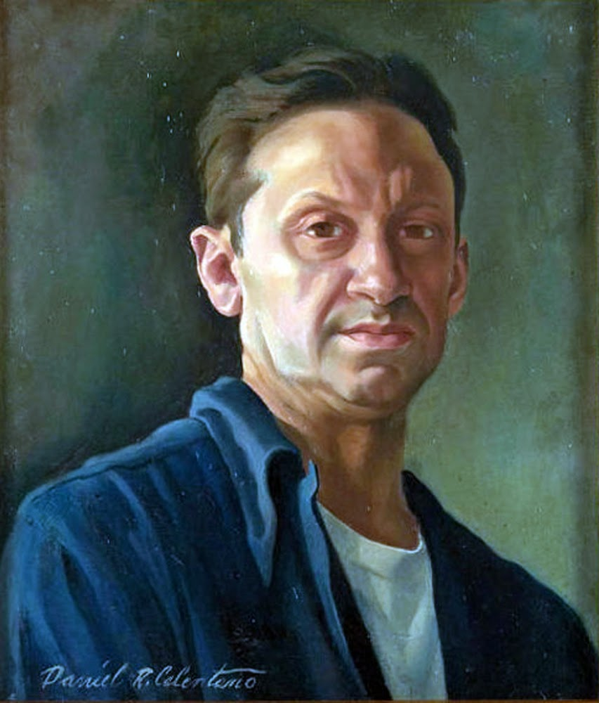 Daniel Ralph Celentano, Self Portrait, Portraits of Painters, Daniel Ralph, Fine arts, Portraits of painters blog, Paintings of Daniel Ralph, Painter Daniel Ralph