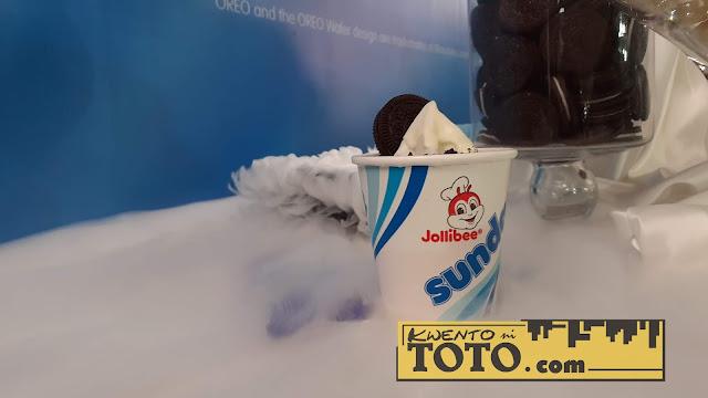 Jollibee Cookies 'n Cream Sundae Twirl