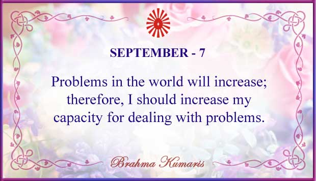 Thought For The Day September 7