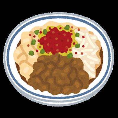 ビャンビャン麺のいイラスト