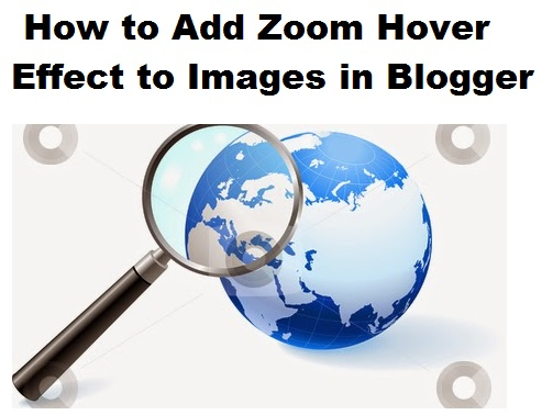 Jquery Image Zoom Hover