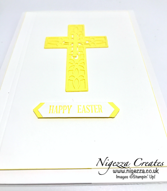 Nigezza Creates with Stampin' Up! and Cross Of Hope Easter Card