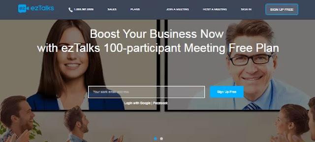Online Meeting Software-ezTalks Cloud Meeting-Best Virtual Assistant Software Tools to Optimize Productivity-Hire A Virtual Assistant