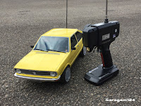 Minaitura R/c VW Passat de controle remoto (bolha / carroceria artesanal )