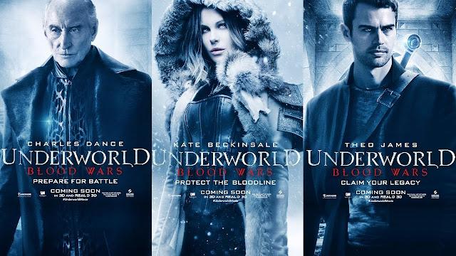 poster al filmului Lumea de Dincolo: razboiae sangeroase