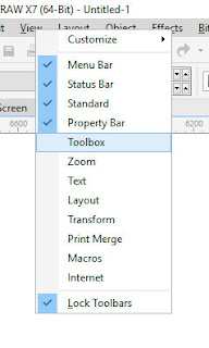 Cara Menampilkan Toolbox yang Hilang pada Coreldraw dengan Mudah