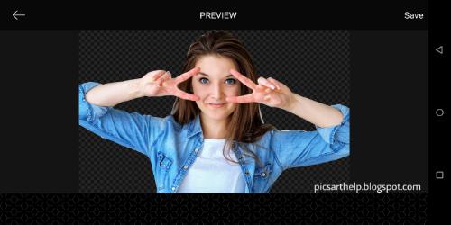 Cara mengubah latar belakang gambar di PicsArt