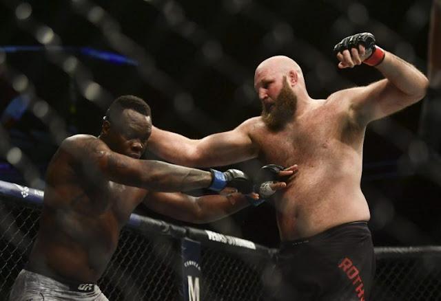 Ovince Saint Preux Ben Rothwell UFC On ESPN+ 29