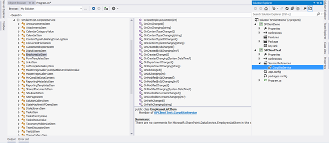 SharePoint 2010 Rest API