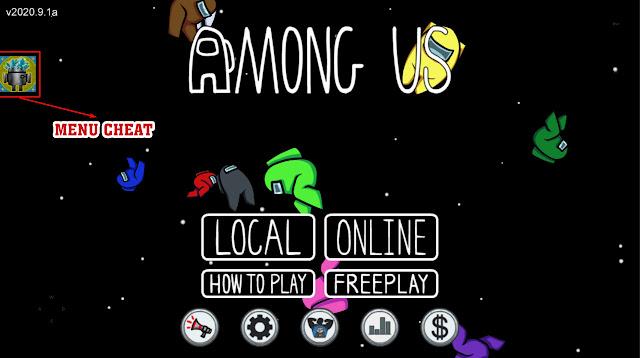 Menu Cheat Game Among Us Mod Apk Terbaru