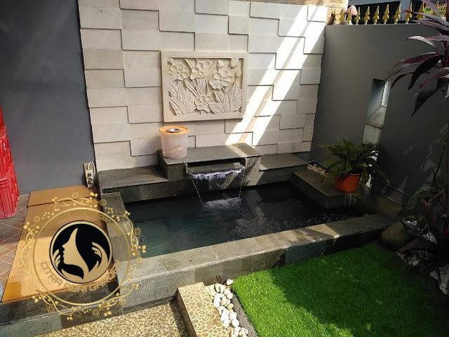 Tukang kolam koi minimalis surabaya
