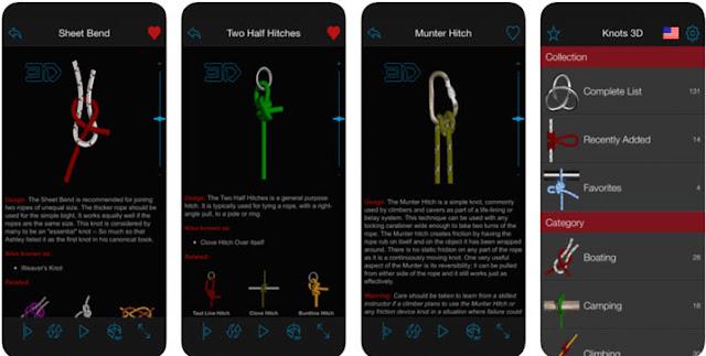 عقدة 3D - تطبيقات المشي لمسافات طويلة جيدة