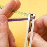Weave a Barrette - Step 2