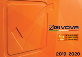 Catalogue Givova 2019-2020