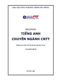Bài Giảng Tiếng Anh Chuyên Ngành Công Nghệ Thông Tin - Lê Thị Hồng Hạnh