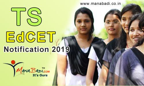 Telangana EdCET Notification 2019