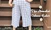 Tips Memakai Celana Kulot Untuk Si Gemuk