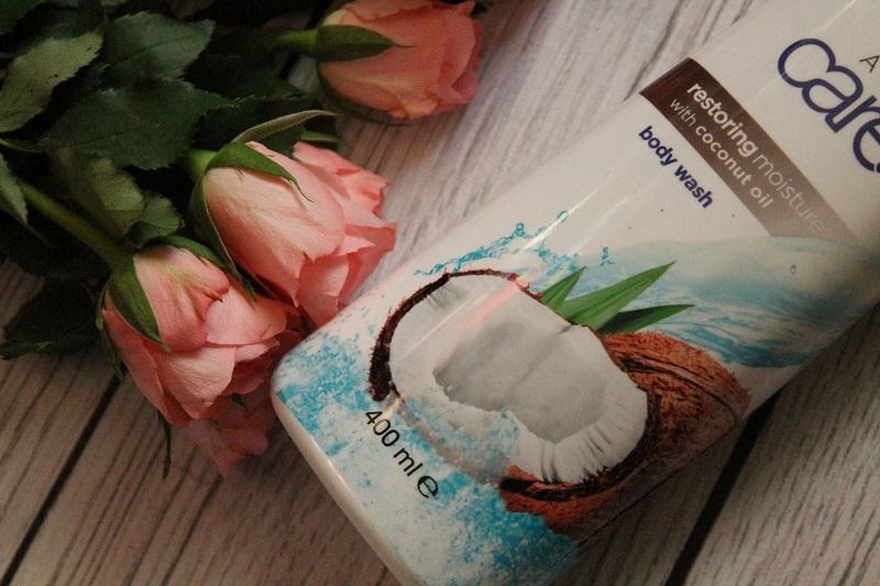 avon care mleczko do mycia ciała z olejkiem kokosowym