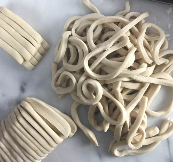 How to Make Homemade Udon #dinner #lunch