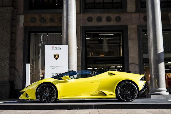 Lamborghini apresenta Huracan STO no Milan Monza Motor Show