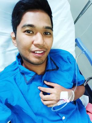 Sebelum pembedahan appendicitis