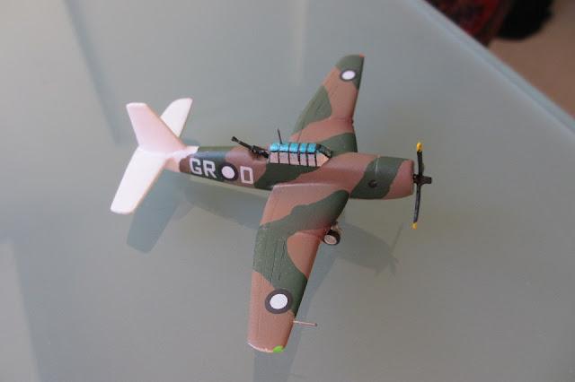1/144 Vultee A-31 Vengeance diecast metal aircraft miniature
