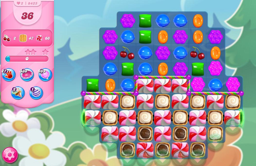 Candy Crush Saga level 8425