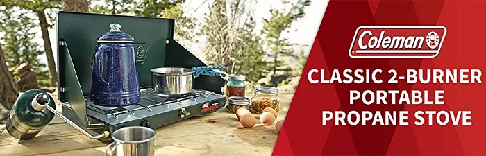 Coleman Classic - Best 2 Burner Gas Camping Stove
