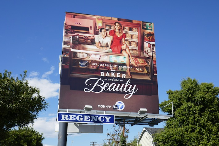 Baker and the Beauty series billboard