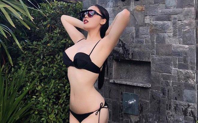 Ảnh bikini nóng bỏng của Hoa hậu Kỳ Duyên sau khi nâng cấp vòng 1