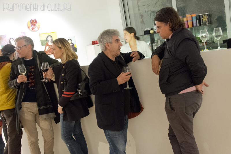 Franco Toselli gallerista Luca Tomio non-curatore