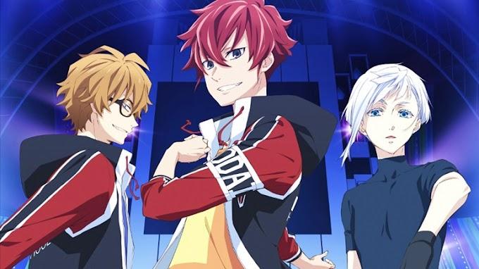Vídeo promocional dá uma prévia da abertura do anime Skate-Leading Stars