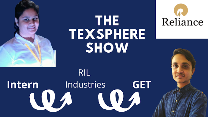 The TexSphere Show with Yash Trivedi Ep 1 - Miss Aditi Pathrabe on Reliance Industries Ltd.