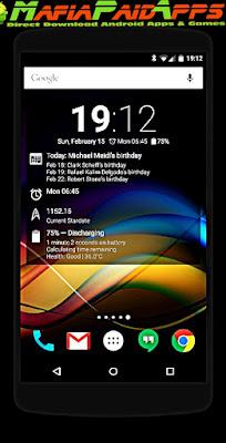 Chronus Home & Lock Widgets Apk MafiaPaidApps
