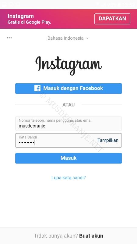 2 cara melihat story instagram tanpa