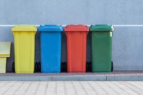 Segregacja śmieci w Brukseli