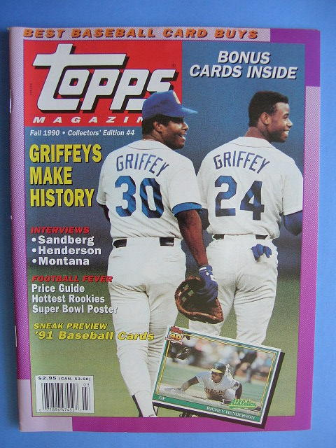Joe Average Card Collector Remember This Topps Magazine 1991 1993